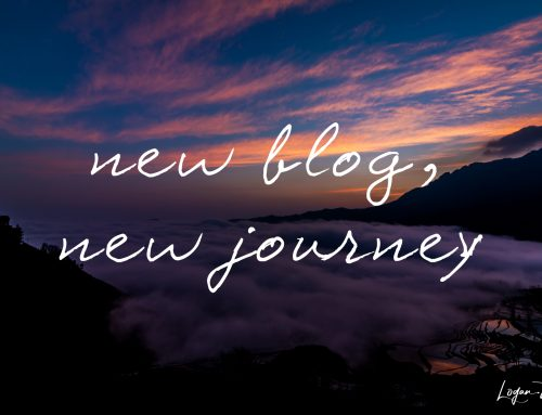 A new blog for a new journey
